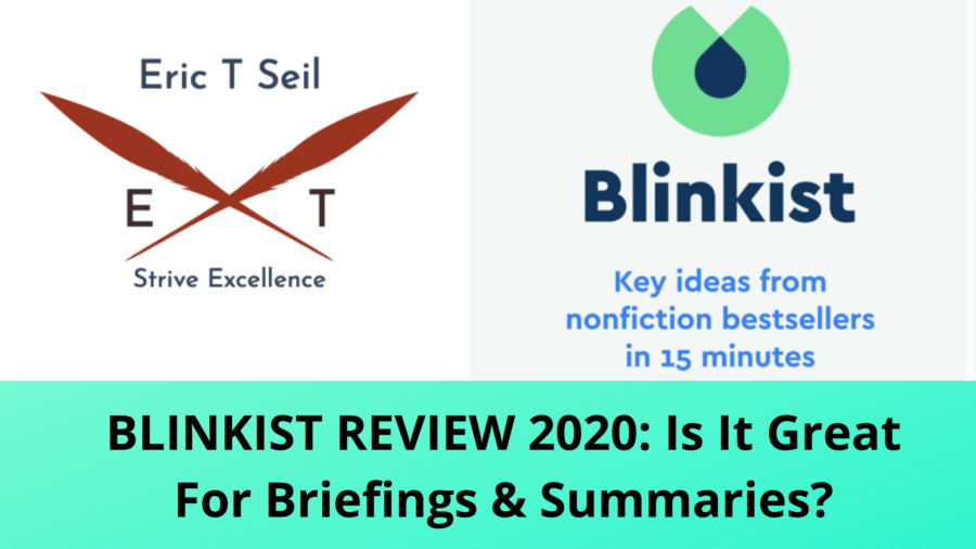 Blinkist Reviews- Main cover