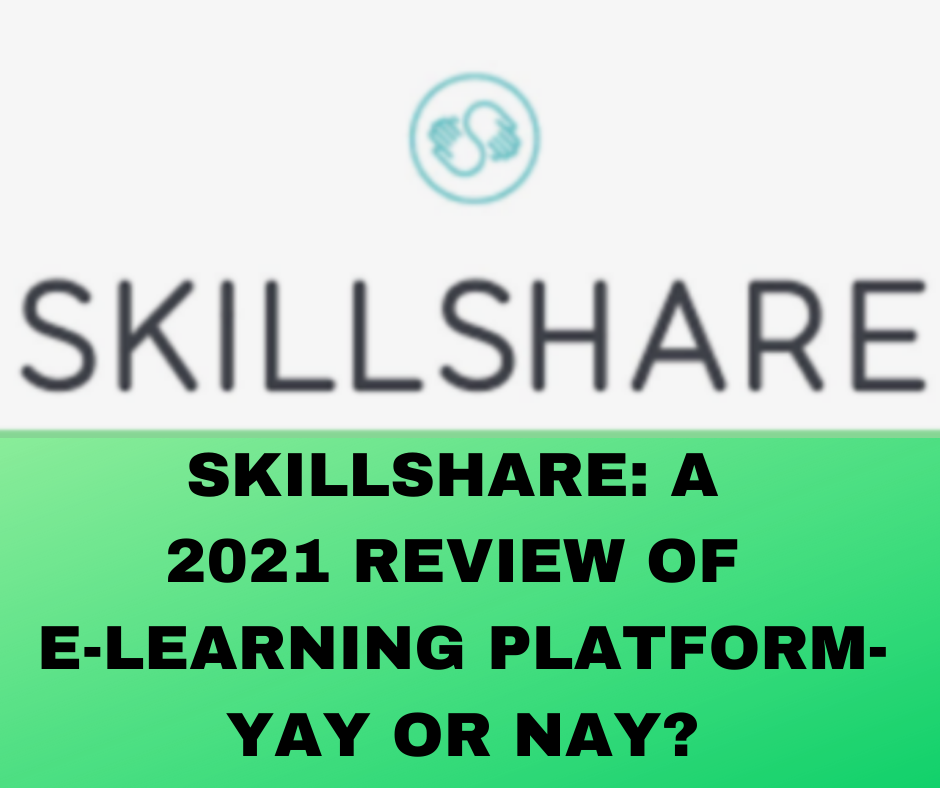 A review of Skillshare- Main Cover