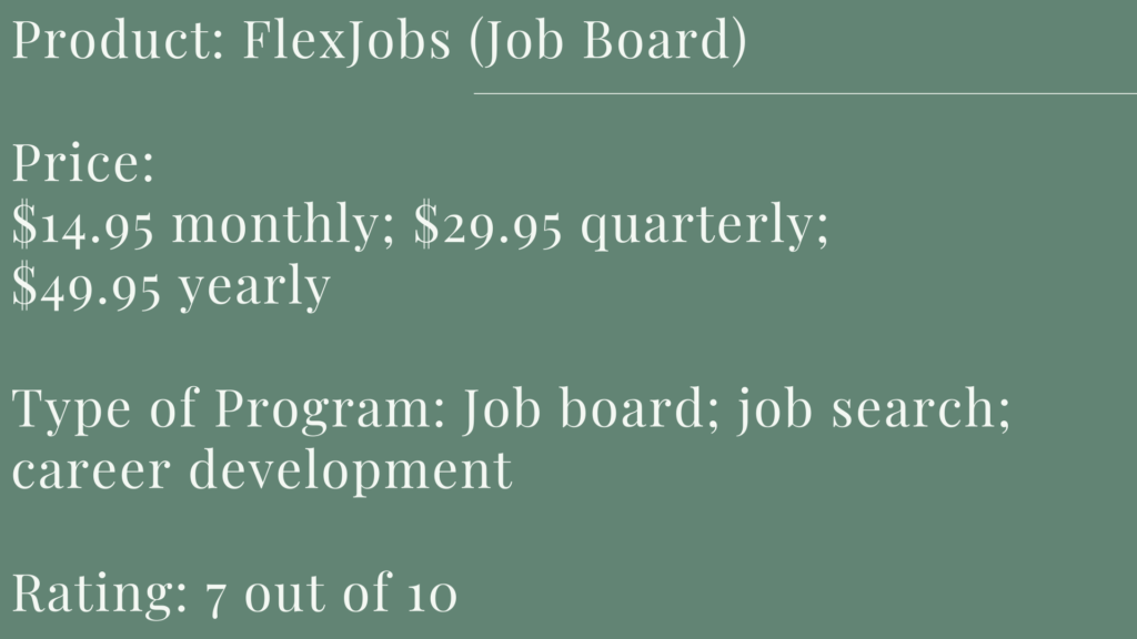 Flexjobs- cover