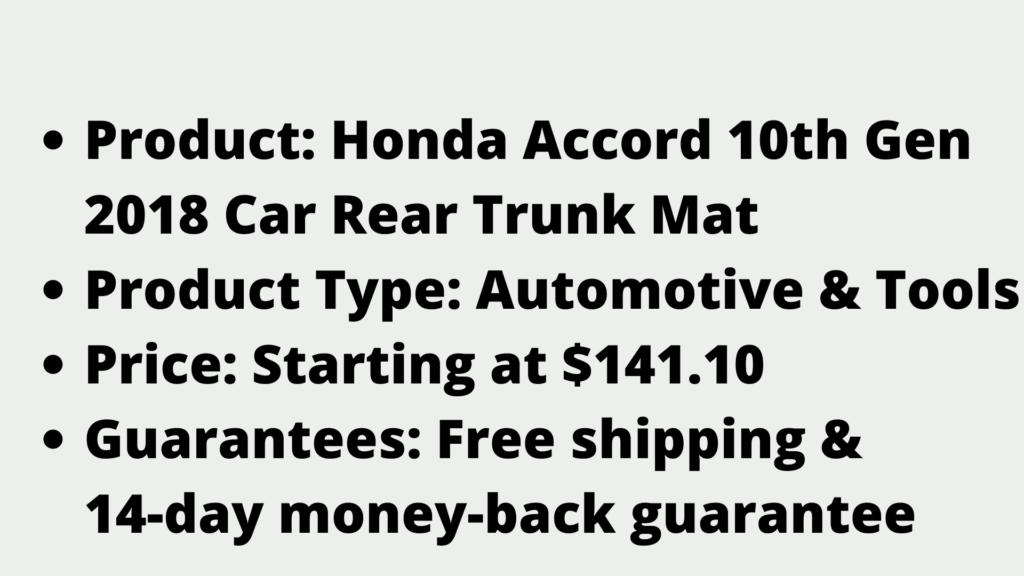 Honda Car Floor Mat