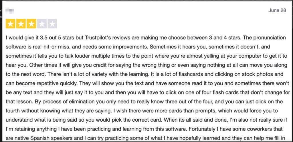 Rosetta Stone Reviews- 6
