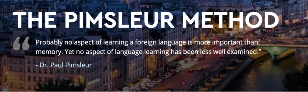 The Pimsleur Language Programs- 1