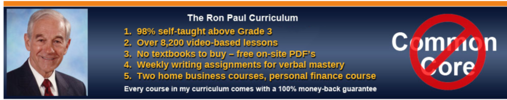 Ron Paul Homeschool Program- 3