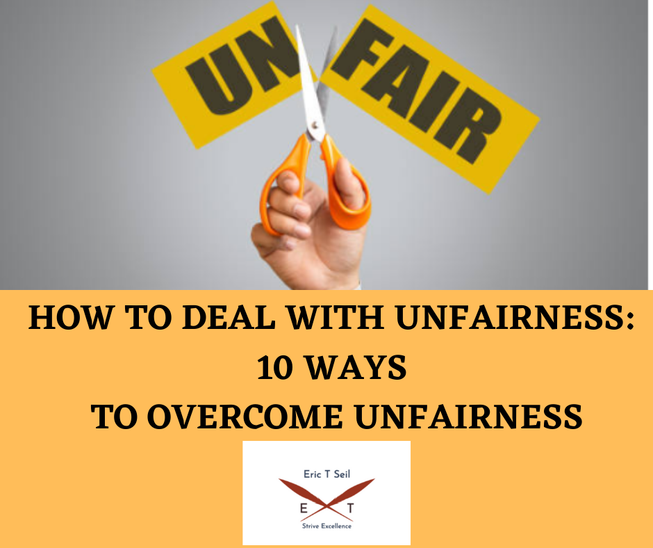 How To Deal With Unfairness- Main