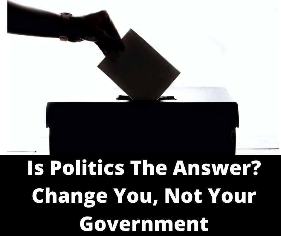 Is Politics The Answer- Main