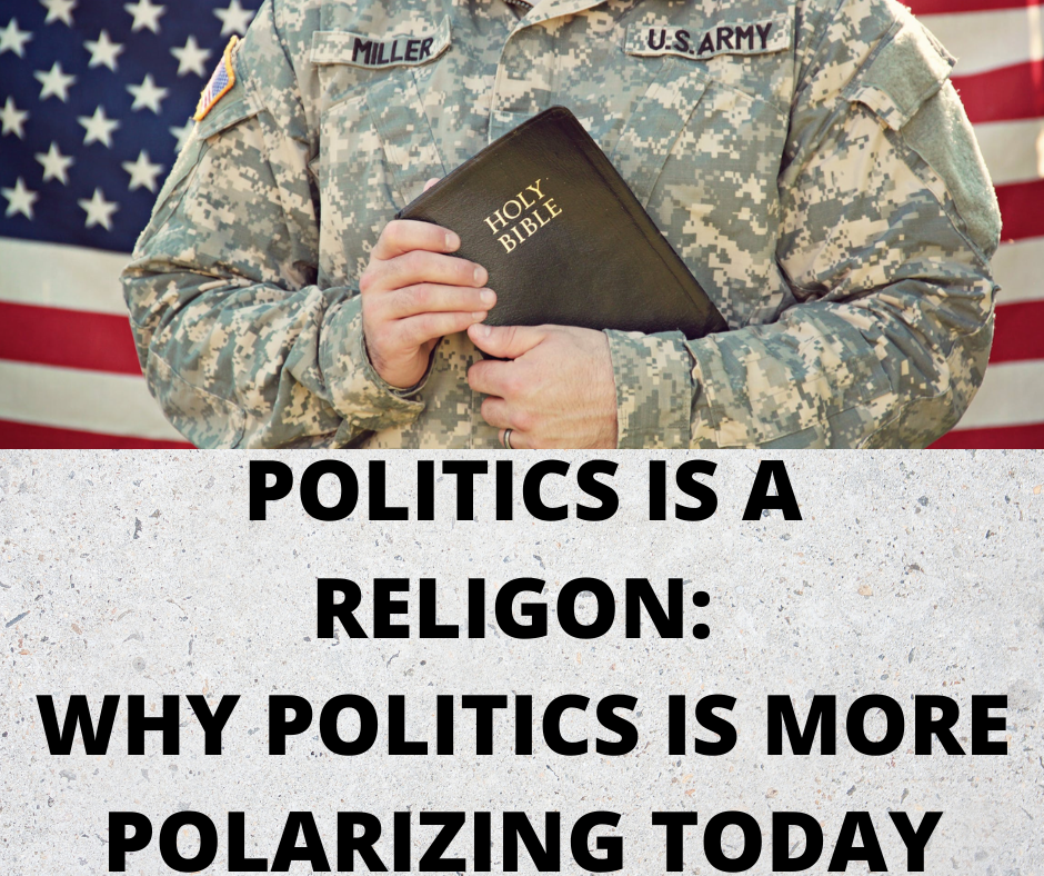 Politics is a religion- Main