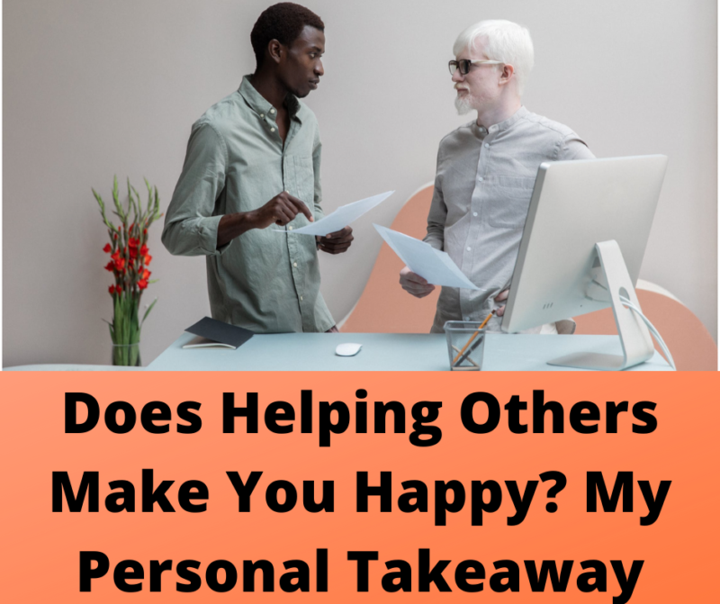 Does helping others make you happy?- Main cover