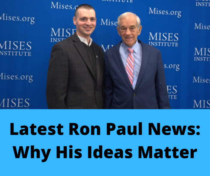 Latest Ron Paul News- Main Cover