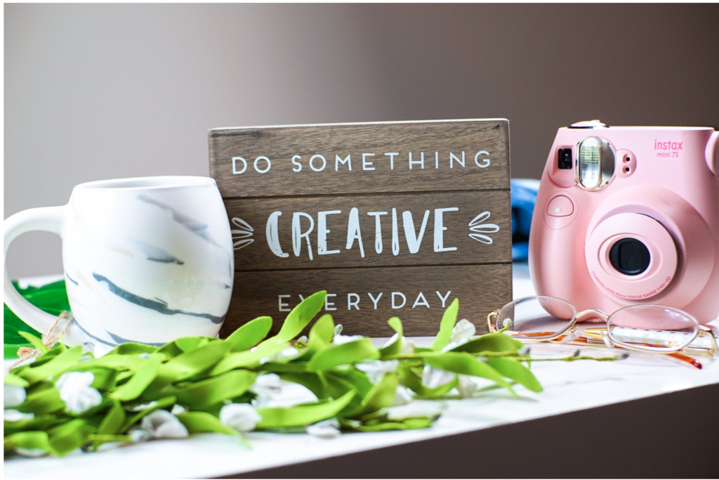 Does helping others make you happy?- Do something creative everyday
