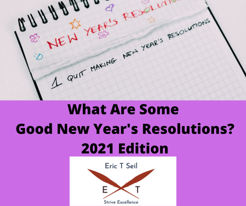 What Are Some Good New Year's Resolutions?- Main Cover