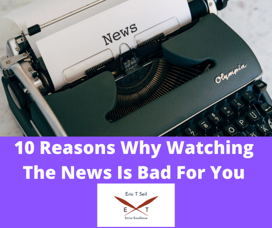 Why watching the news is bad for you- Main cover