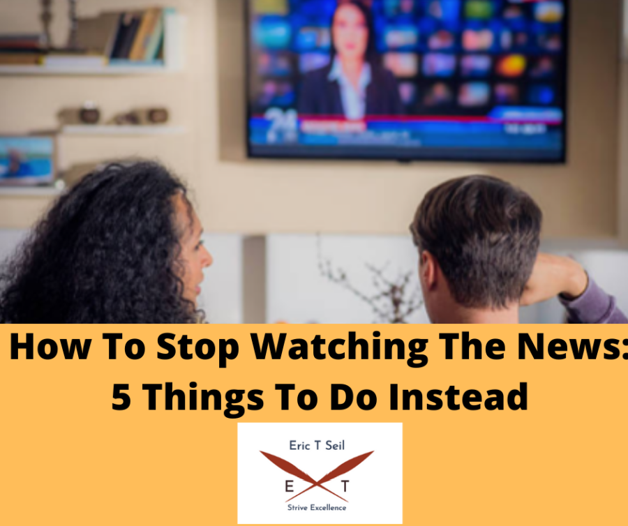 How to stop watching the news- Main cover