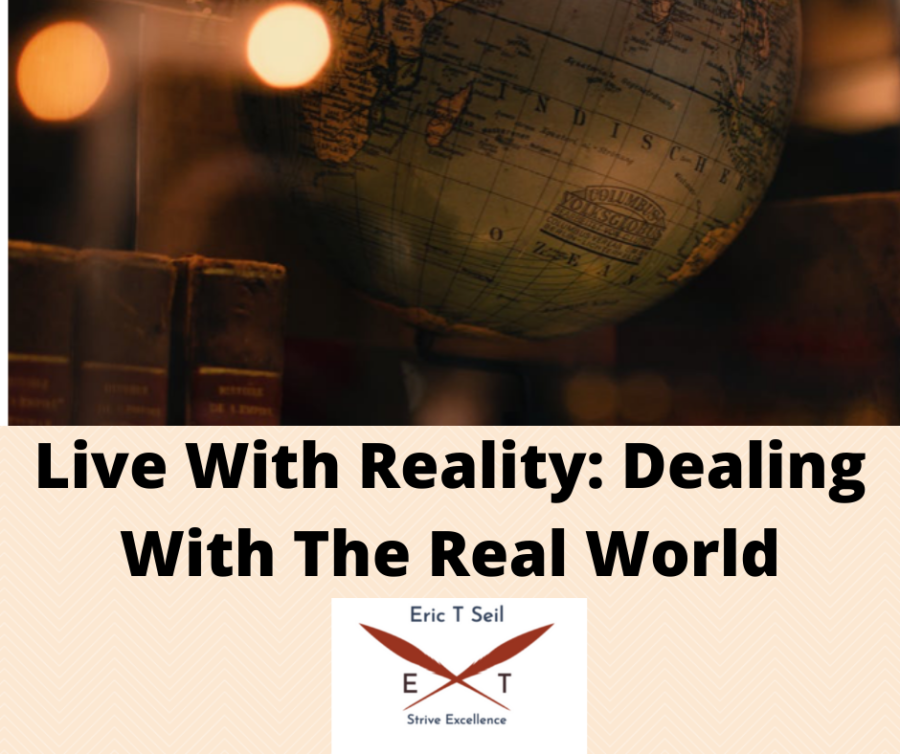 Live with reality- Main cover