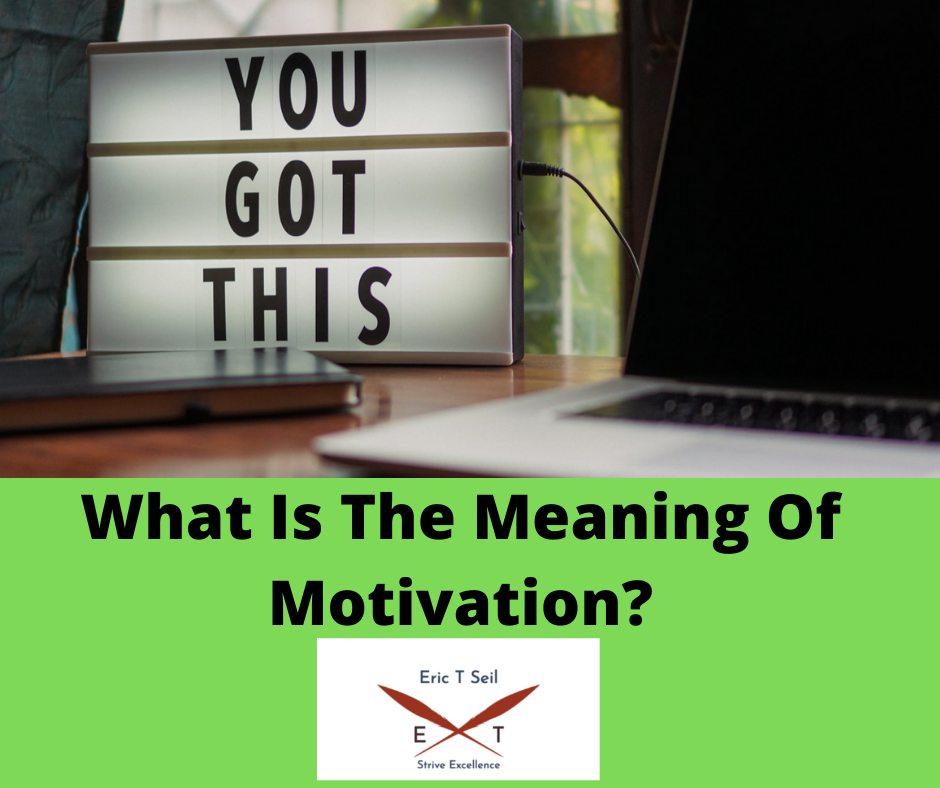 What is the meaning of motivation- Main cover