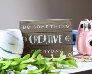 Does helping others make you happy?- Creative board