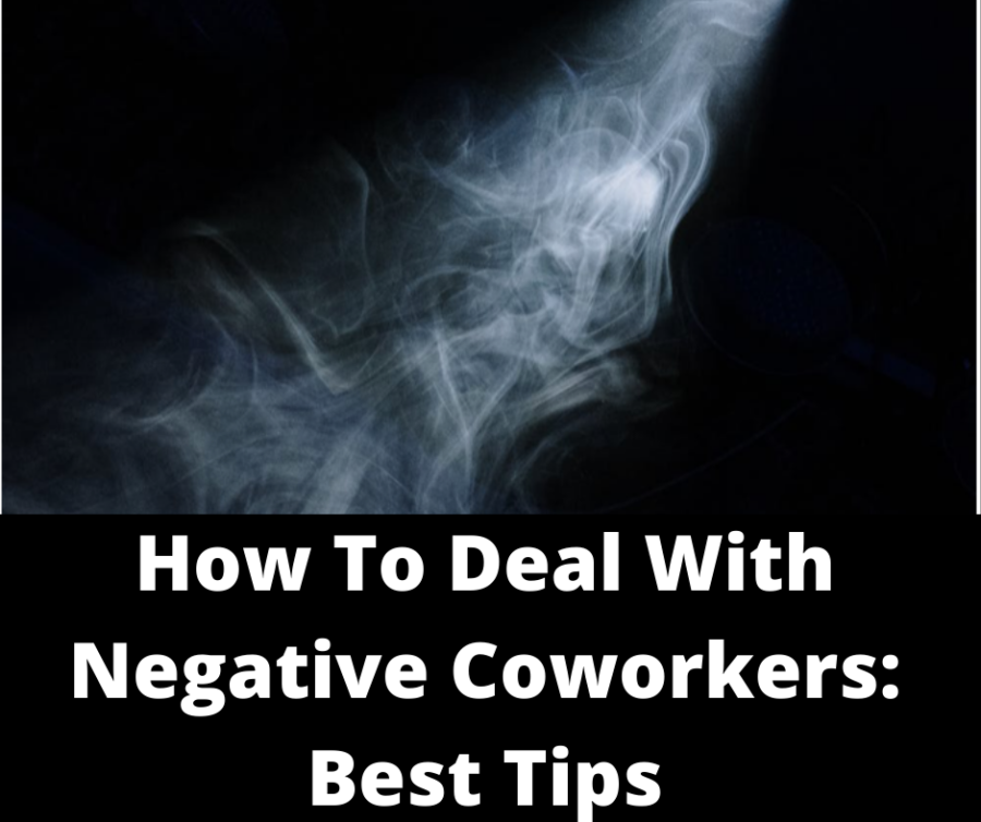 How to deal with negative coworkers- Main cover