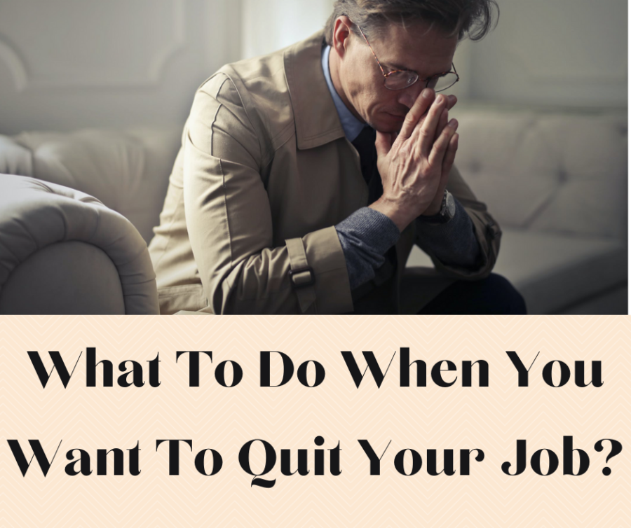 When you want to quit your job- Main cover