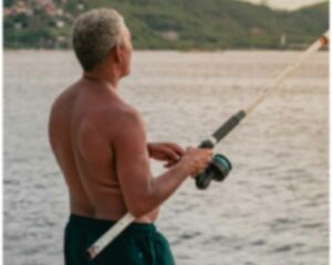 Is a blog a business?- Man fishing